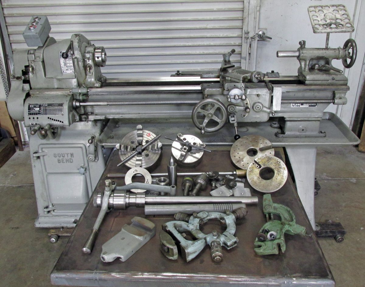South Bend 13″ Lathe For Sale (on eBay)