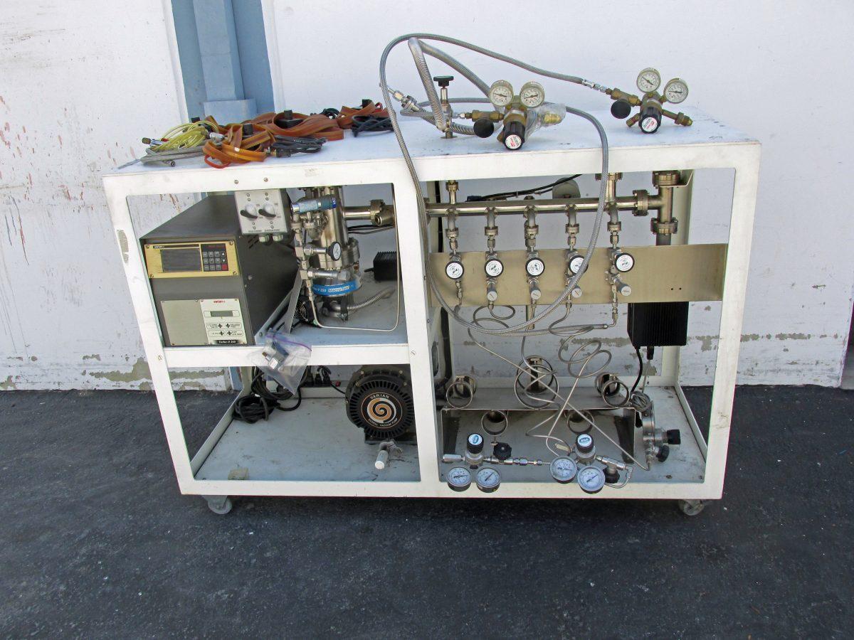 Varian Vacuum Console